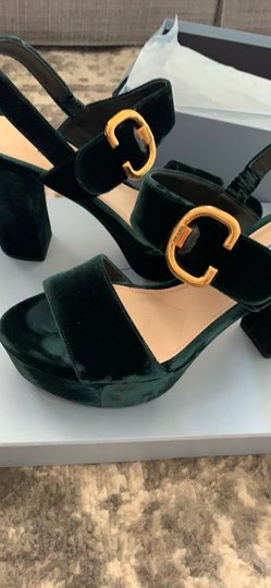 Prada green Platforms Image 1