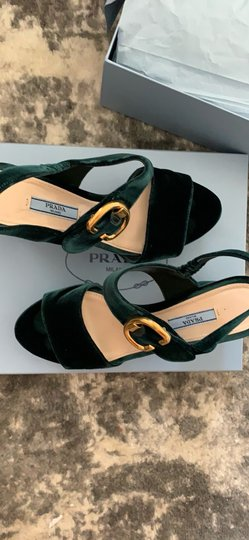 Prada green Platforms Image 2