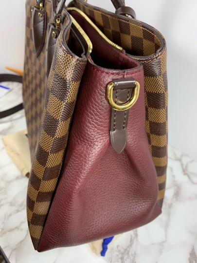 Louis Vuitton Satchel in brown red Image 5