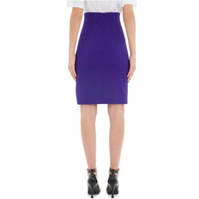 Versace Skirt Purple Image 1