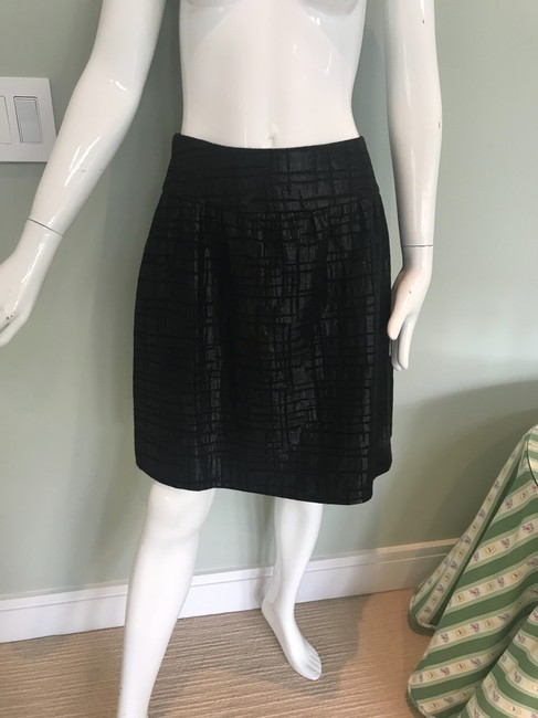 J Lee Silver Skirt black Image 1