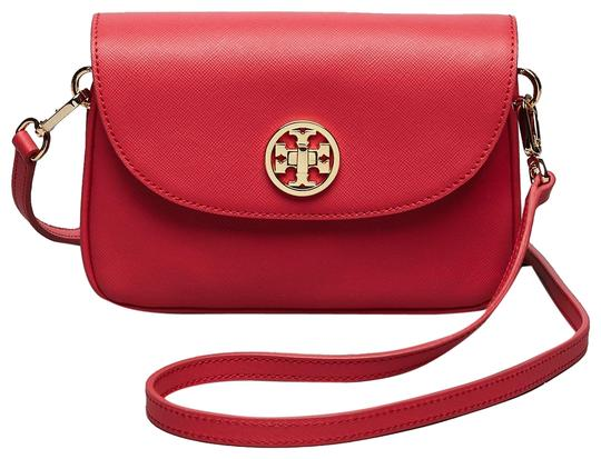Preload https://img-static.tradesy.com/item/25961534/tory-burch-robinson-mini-red-leather-cross-body-bag-0-2-540-540.jpg