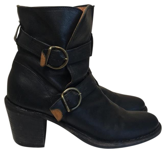 Item - Black Double Buckle Ankle Boots/Booties Size EU 40 (Approx. US 10) Regular (M, B)