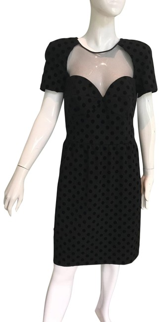 Preload https://img-static.tradesy.com/item/25961563/black-couture-mid-length-cocktail-dress-size-8-m-0-1-650-650.jpg