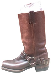 Frye Brown, Red Boots - item med img