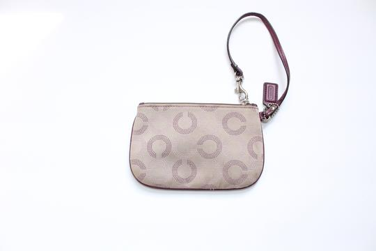 Coach Wallet Wristlet in Tan Purple Image 4