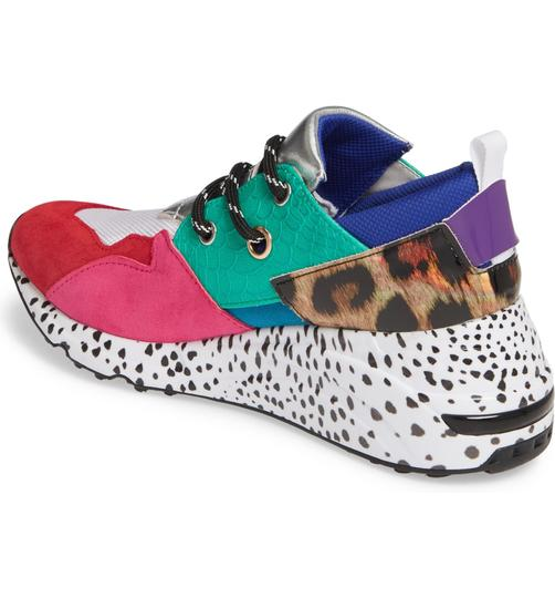 Steve Madden rainbow Athletic Image 2