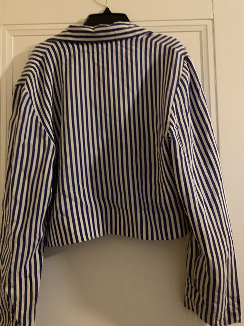 Ellen Tracy Navy blue and white Jacket Image 1
