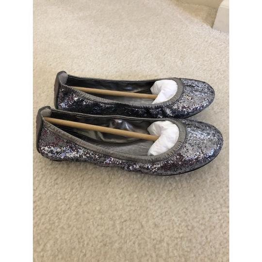 Tory Burch Pewter Flats Image 1