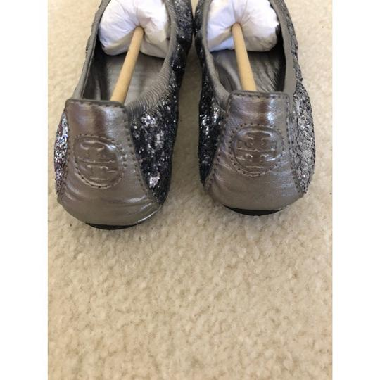 Tory Burch Pewter Flats Image 2