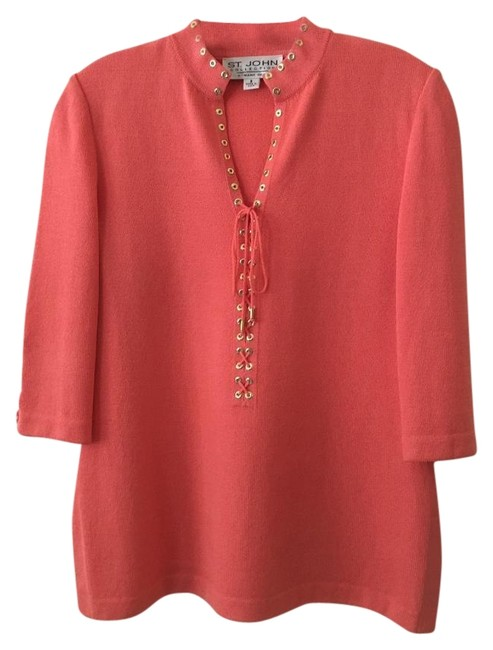 """Item - Salmon """"Collection By Marie Gray"""" Tunic Size 2 (XS)"""