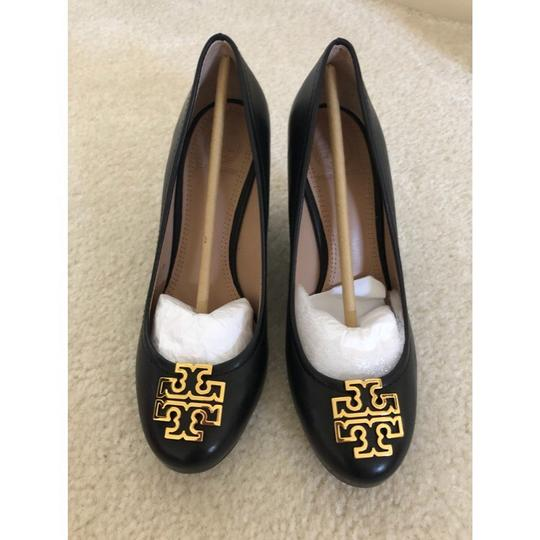 Tory Burch Black Wedges Image 1