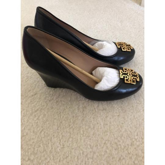 Tory Burch Black Wedges Image 2