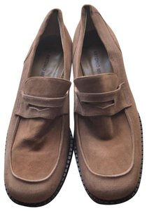 Mario Miro Suede Moccassins Small Heels brown Boots