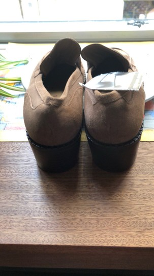 Mario Miro Suede Moccassins Small Heels brown Boots Image 1