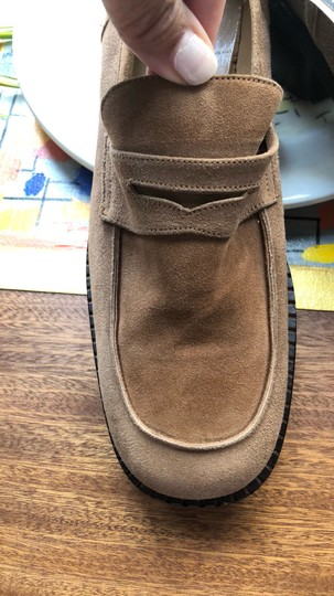 Mario Miro Suede Moccassins Small Heels brown Boots Image 2
