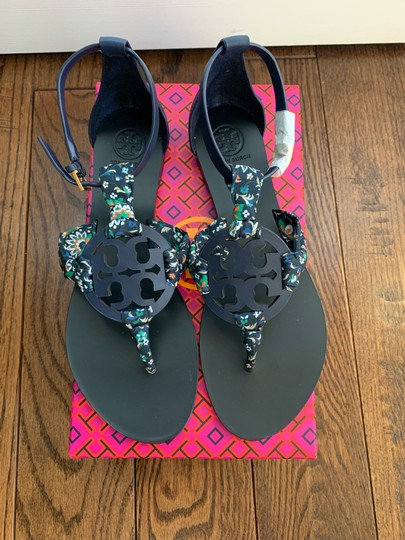 Tory Burch Navy Sandals Image 1