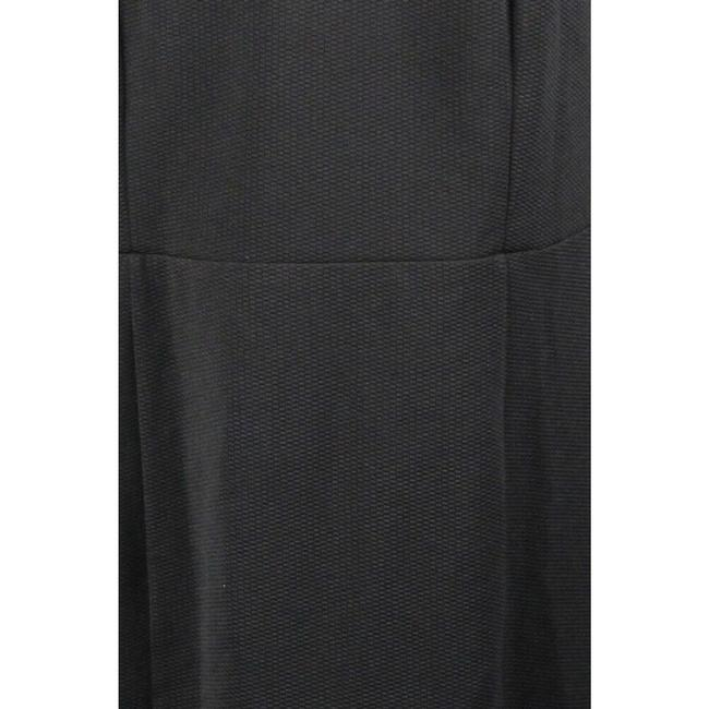 City Chic Sleeveless Textured Panel Exposed Zipper Cut-out Dress Image 2