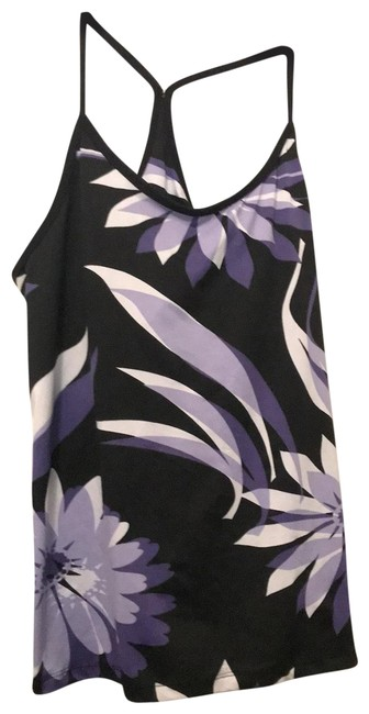 Preload https://img-static.tradesy.com/item/25961929/black-with-purple-lavender-and-white-pattern-tennis-activewear-top-size-14-l-0-1-650-650.jpg