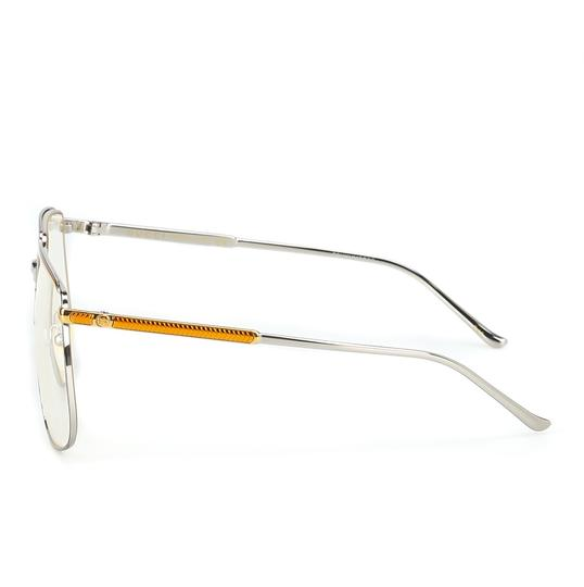 Gucci GUCCI FASHION INSPIRED GG0365S-001 SILVER/GOLD/CLEAR LENS SUNGLASSES Image 3