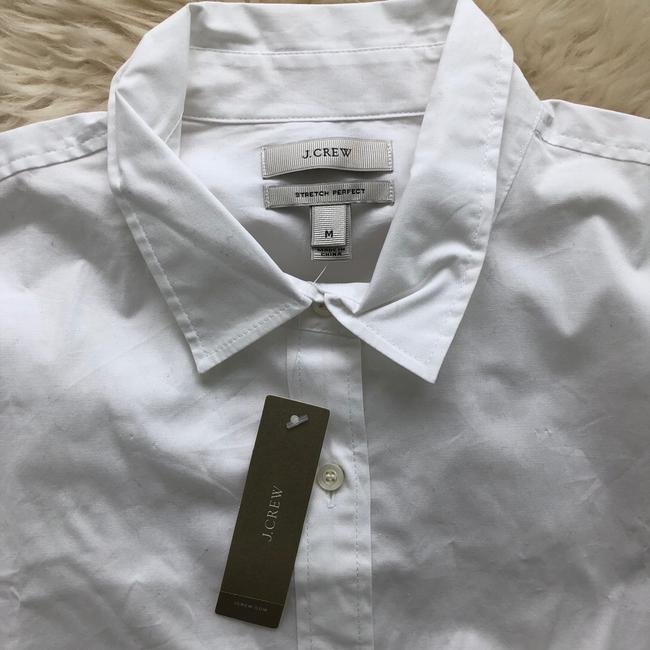 J.Crew Button Down Shirt white Image 2