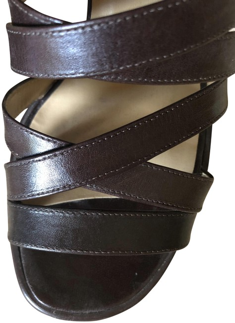 Nine West Brown Oliver Sandals Size US 7.5 Regular (M, B) Nine West Brown Oliver Sandals Size US 7.5 Regular (M, B) Image 1