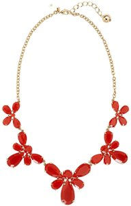 Kate Spade NEW Garden Path Graduated Collar Necklace, Red