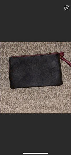 Coach Wristlet in brown and pink Image 1