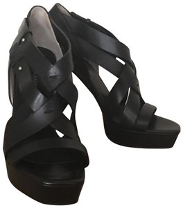 CoSTUME NATIONAL Black Platforms
