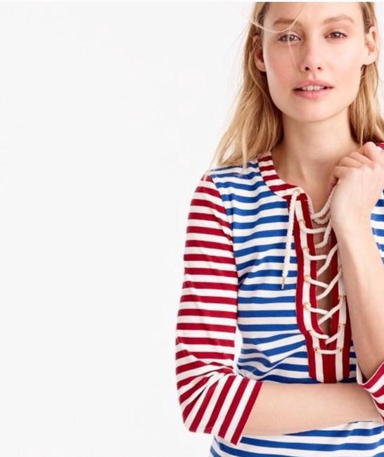 Red, white and blue Maxi Dress by J.Crew Image 1