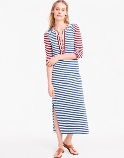 Red, white and blue Maxi Dress by J.Crew Image 2