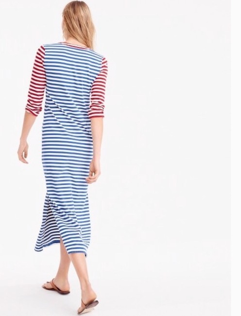 Red, white and blue Maxi Dress by J.Crew Image 3