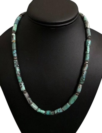Preload https://img-static.tradesy.com/item/25962282/turquoise-sterling-silver-necklace-0-1-540-540.jpg