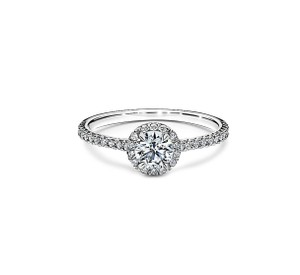 Tiffany & Co. I Soleste® Round Brilliant Platinum Engagement Ring