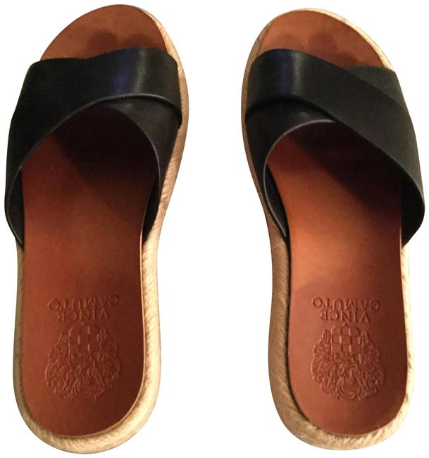 Item - Black Slide Sandals Size US 5 Regular (M, B)