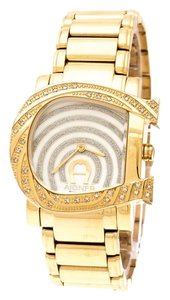 Etienne Aigner Mother of Pearl Diamonds Genua Due A31600 Women's Wristwatch 31 mm