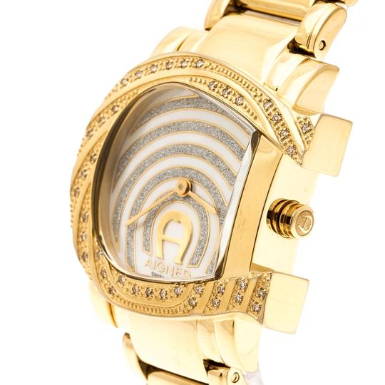 Etienne Aigner Mother of Pearl Diamonds Genua Due A31600 Women's Wristwatch 31 mm Image 4