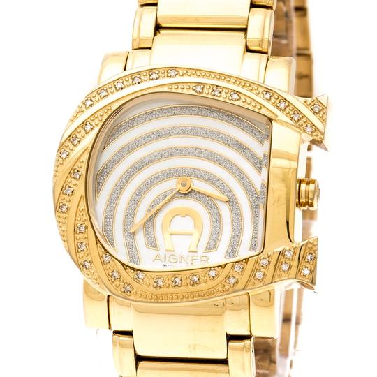 Etienne Aigner Mother of Pearl Diamonds Genua Due A31600 Women's Wristwatch 31 mm Image 6