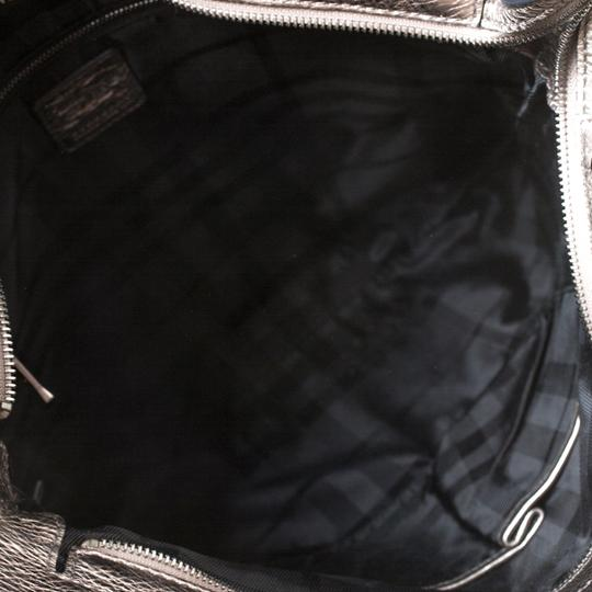Burberry Canvas Leather Tote in Metallic Image 7