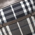 Burberry Canvas Leather Tote in Metallic Image 9