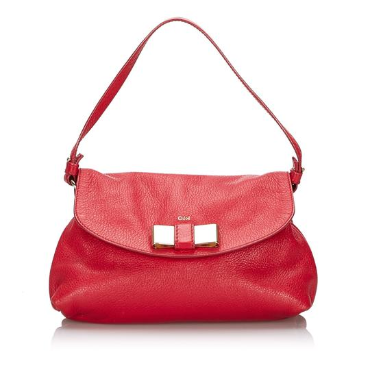 Preload https://img-static.tradesy.com/item/25962592/chloe-lily-france-small-red-leather-cross-body-bag-0-0-540-540.jpg