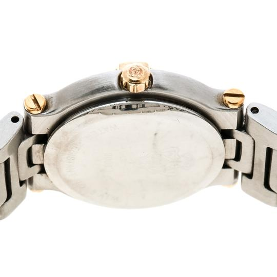 Gucci Cream Two-Tone Stainless Steel 9000L Women's Wristwatch 25 mm Image 4