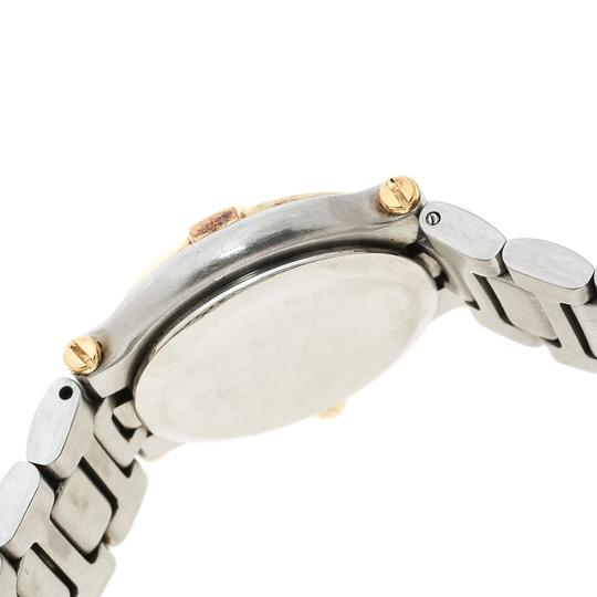 Gucci Cream Two-Tone Stainless Steel 9000L Women's Wristwatch 25 mm Image 6