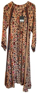 """Floral """"Wildflower Oyster"""" Maxi Dress by Natalie Martin"""