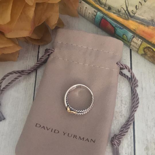 David Yurman David Yurman Gold X Crossover Ring Image 2