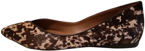 French Sole Black and Tan Flats