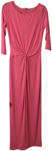 Michael Kors Collection Gown Maxi Long Sleeve Dress