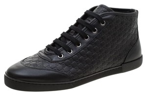 Gucci Leather Black Athletic