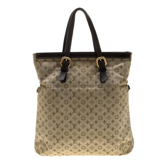 Louis Vuitton Canvas Fabric Tote in Green Image 1