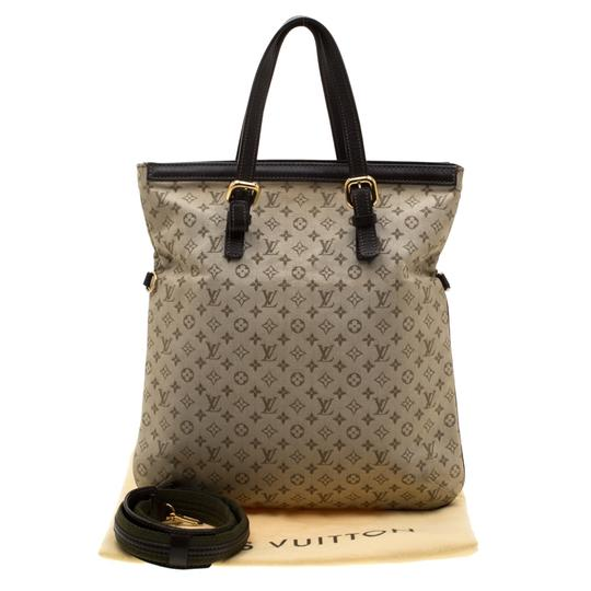 Louis Vuitton Canvas Fabric Tote in Green Image 4